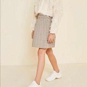 Tween pleated skirt